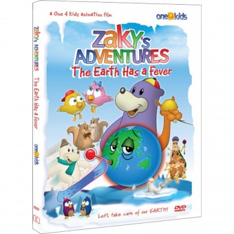 Zaky's Adventures: The Earth has a Fever (DVD)